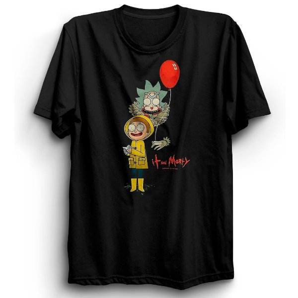 Camiseta Básica Desenho Rick It A Coisa
