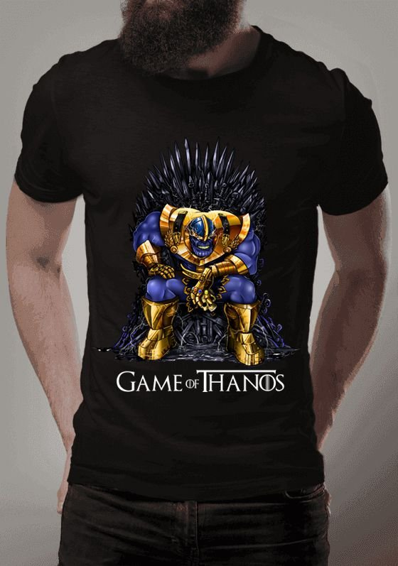 Camiseta Game of Thanos