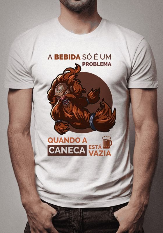 Camiseta Gragas League of Legends