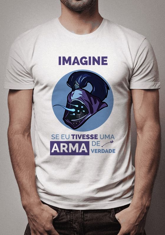 Camiseta Jax League of Legends