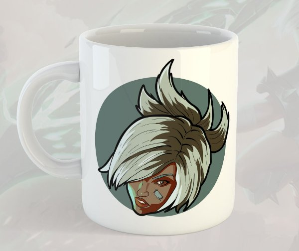 Caneca Riven League of Legends