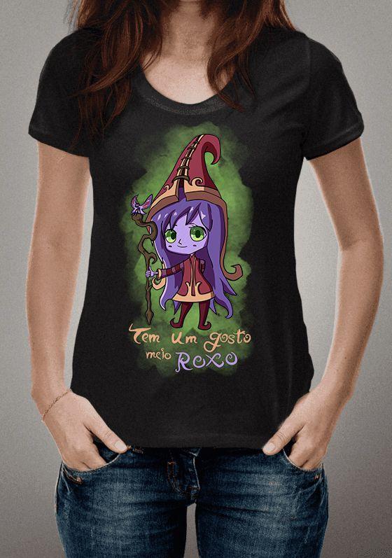 Camiseta Lulu Chibi League of Legends
