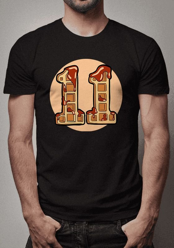 Camiseta Eleven Waffles Stranger Things
