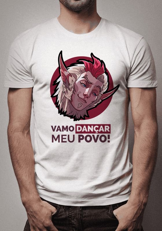 Camiseta Rakan League of Legends
