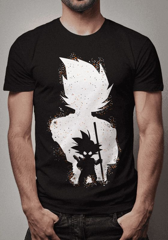 Camiseta Goku Inside Dragon Ball