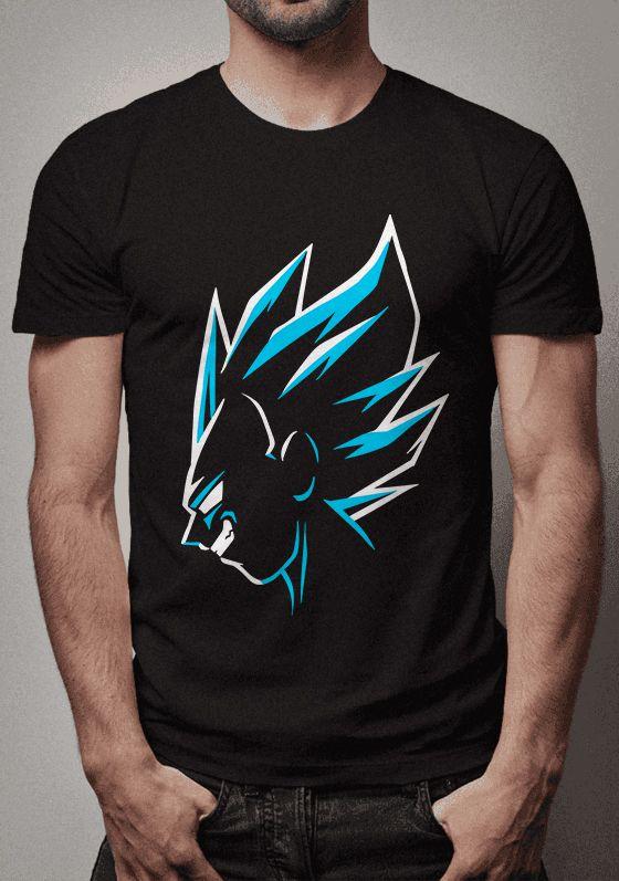Camiseta Vegeta Blue Dragon Ball