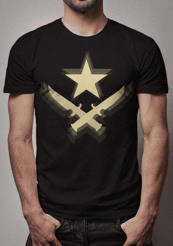 Camiseta Terrorista Counter Strike