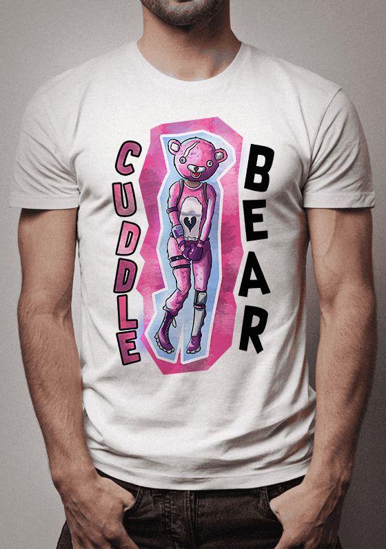 Camiseta Cuddle Bear Fortnite