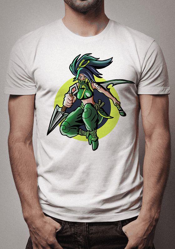 Camiseta Ninja Akali League of Legends