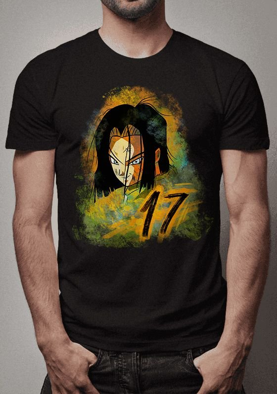 Camiseta Androide 17 Dragon Ball