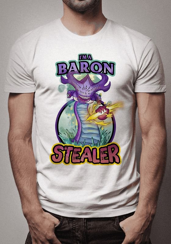 Camiseta I'm Baron Stealer League of Legends