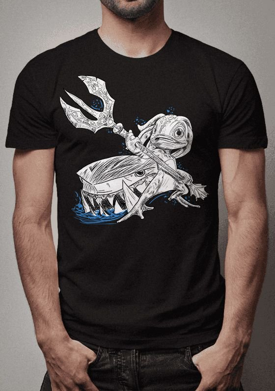 Camiseta Fizz Sketch League of Legends