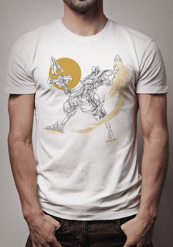 Camiseta Azir Sketch League of Legends