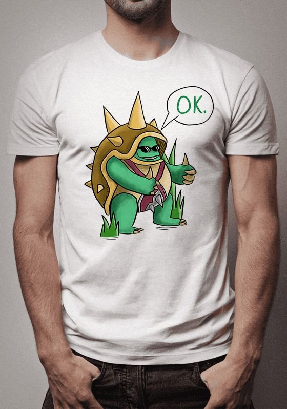 Camiseta Rammus League of Legends
