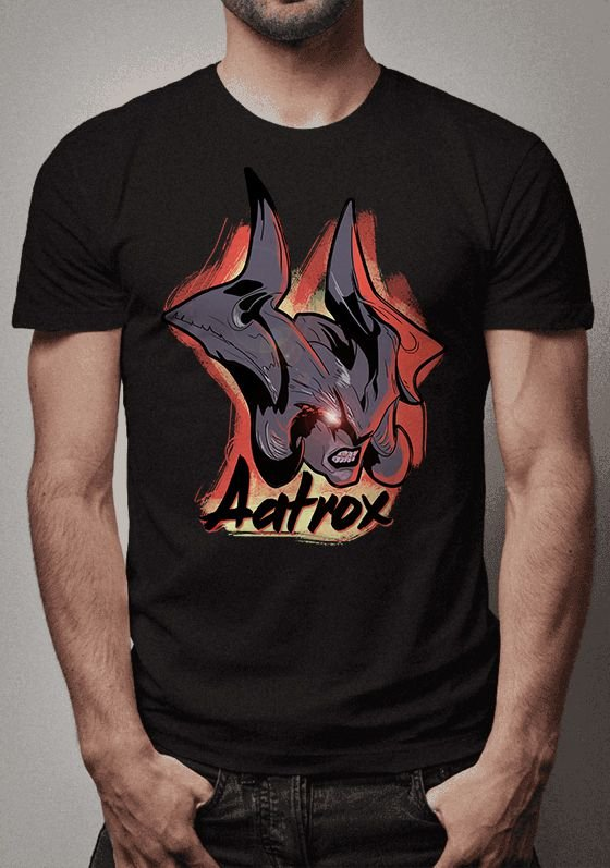 Camiseta Aatrox League of Legends
