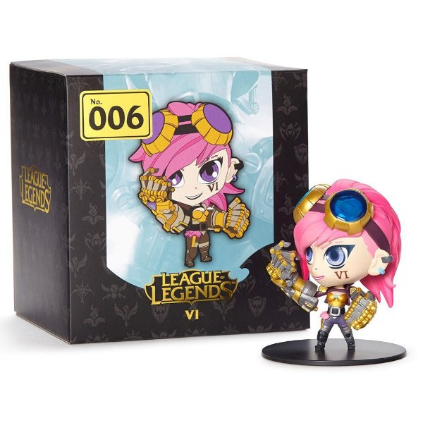 Boneco VI Pink League of Legends