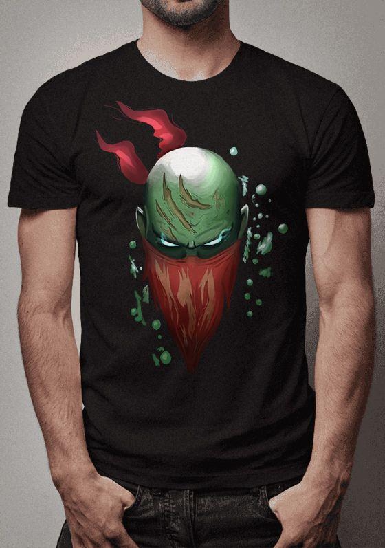 Camiseta Pyke League of Legends