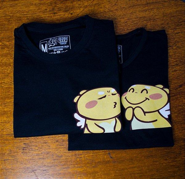 Kit Camisetas Emoji MOOD Casal