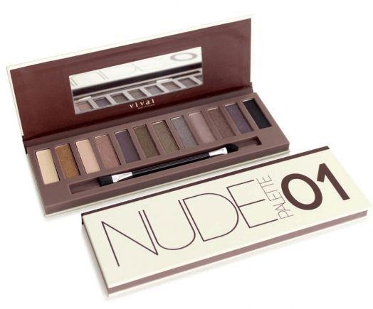 Sombra nude palette Vivai Cor 01 - 2112.1