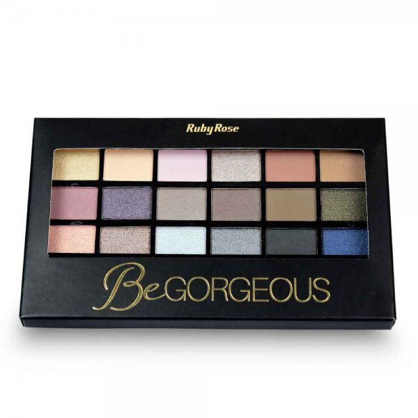Paleta de sombra be gorgeous com primer Ruby Rose HB 9916