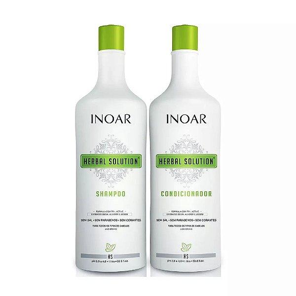 Kit Duo Inoar Citratrifios Shampoo 1000ml + Condicionador 1000ml