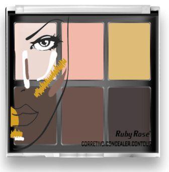 Corretivo Light Concealer Contour Ruby Rose