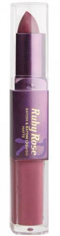 Batom Liquido Matte Ruby Rose HB 8606 Cor 191