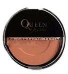 Pó compacto facial cores escuras Queen cor 06