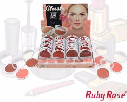Blush Ruby Rose HB 6104 Kit caixa contendo 36 unidades Atacado