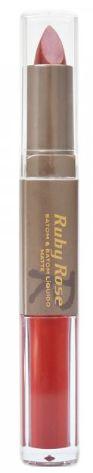 Batom Liquido Matte  Ruby Rose HB 8606 Cor 199