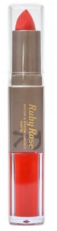 Batom Liquido Matte Ruby Rose HB 8606 Cor 033