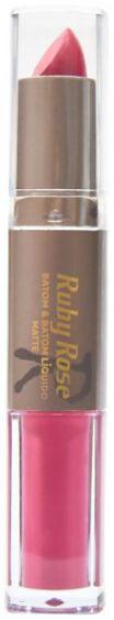 Batom Liquido Matte Ruby Rose HB 8606 COR 003