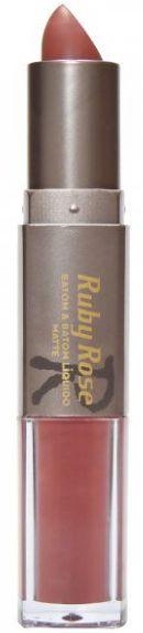 Batom Liquido Matte Ruby Rose HB 8606 Cor 023
