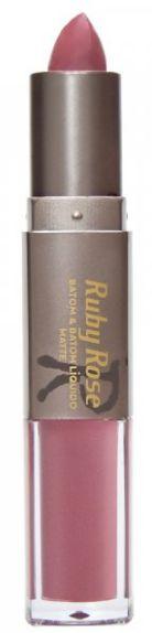 Batom Liquido Matte Ruby Rose HB 8606 Cor 202