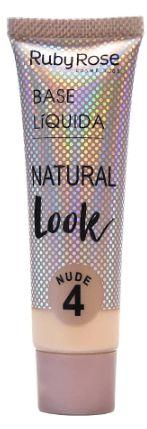 Base líquida natural nude Cor 4
