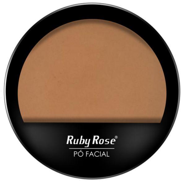 Po compacto facial Ruby Rose cores claras HB 7206 cor 15