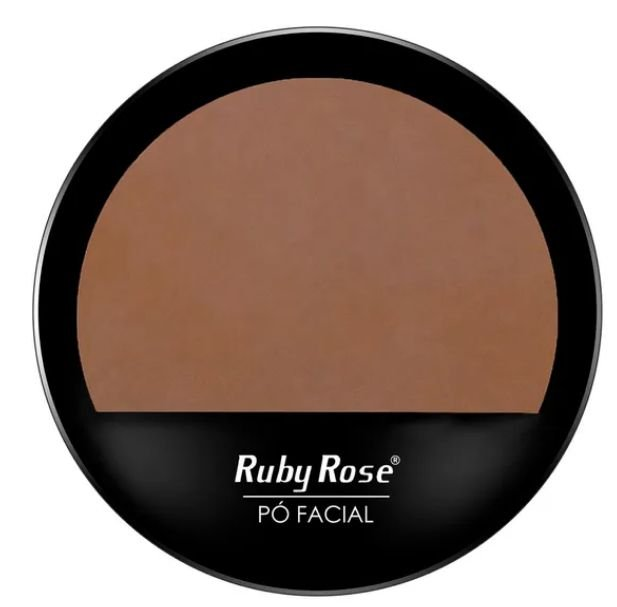 Po compacto facial Ruby Rose HB 7206 cor 21