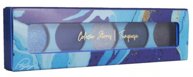 Paleta turquesa de sombra Coleçao Stones Playboy