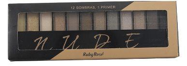 Paleta de Sombras Nude Ruby Rose HB 9911 a mais vendida