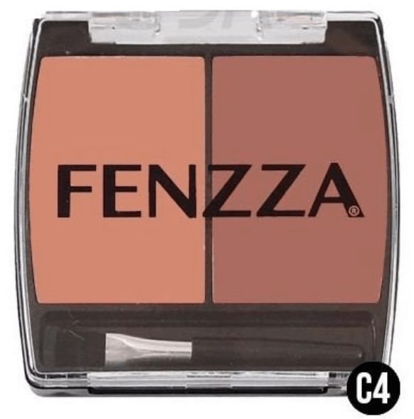 Blush Duo C4 da Fenzza Makeup Make