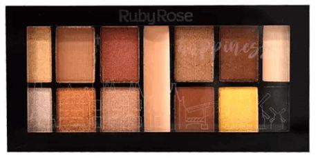 Kit de Sombras Happinezz Ruby Rose