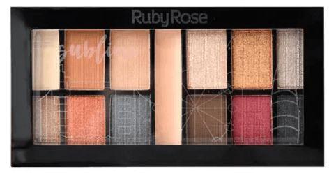Kit de Sombras Sublime Ruby Rose
