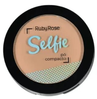 Pó Compacto Selfie Bege Médio 03 Ruby Rose