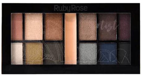 Promocao Kit de Sombras Artist Ruby Rose
