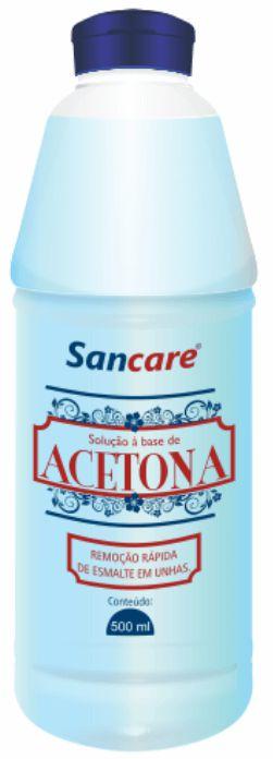 Acetona Sancare 500 ml Atacado