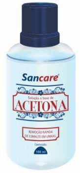 Acetona Sancare 100 ml