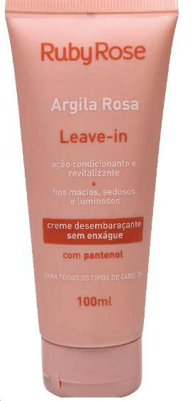 Leave In Argila Rosa Ruby Rose Atacado