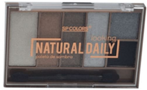 Paleta de Sombras 6 Cores Natural Daily SP Colors C