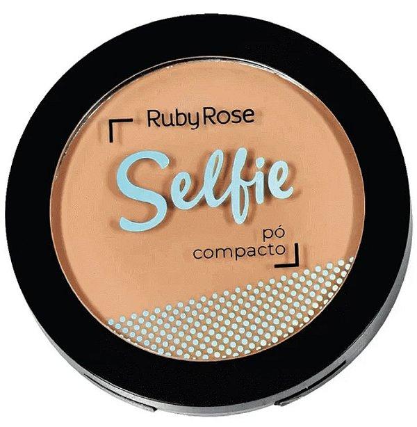 Pó Compacto Facial Selfie Ruby Rose