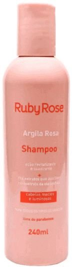 Shampoo Argila Rosa Ruby Rose